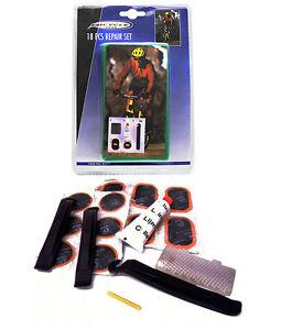 fahrrad schlauch reparatur set 18 teilig neu ovp werkzeug. Black Bedroom Furniture Sets. Home Design Ideas