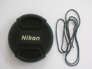 NIKON-LC-52-STYLE-52MM-CENTRE-PINCH-CLIP-ON-LENS-CAP-FOR-NIKON-WITH-CAP-KEEPER