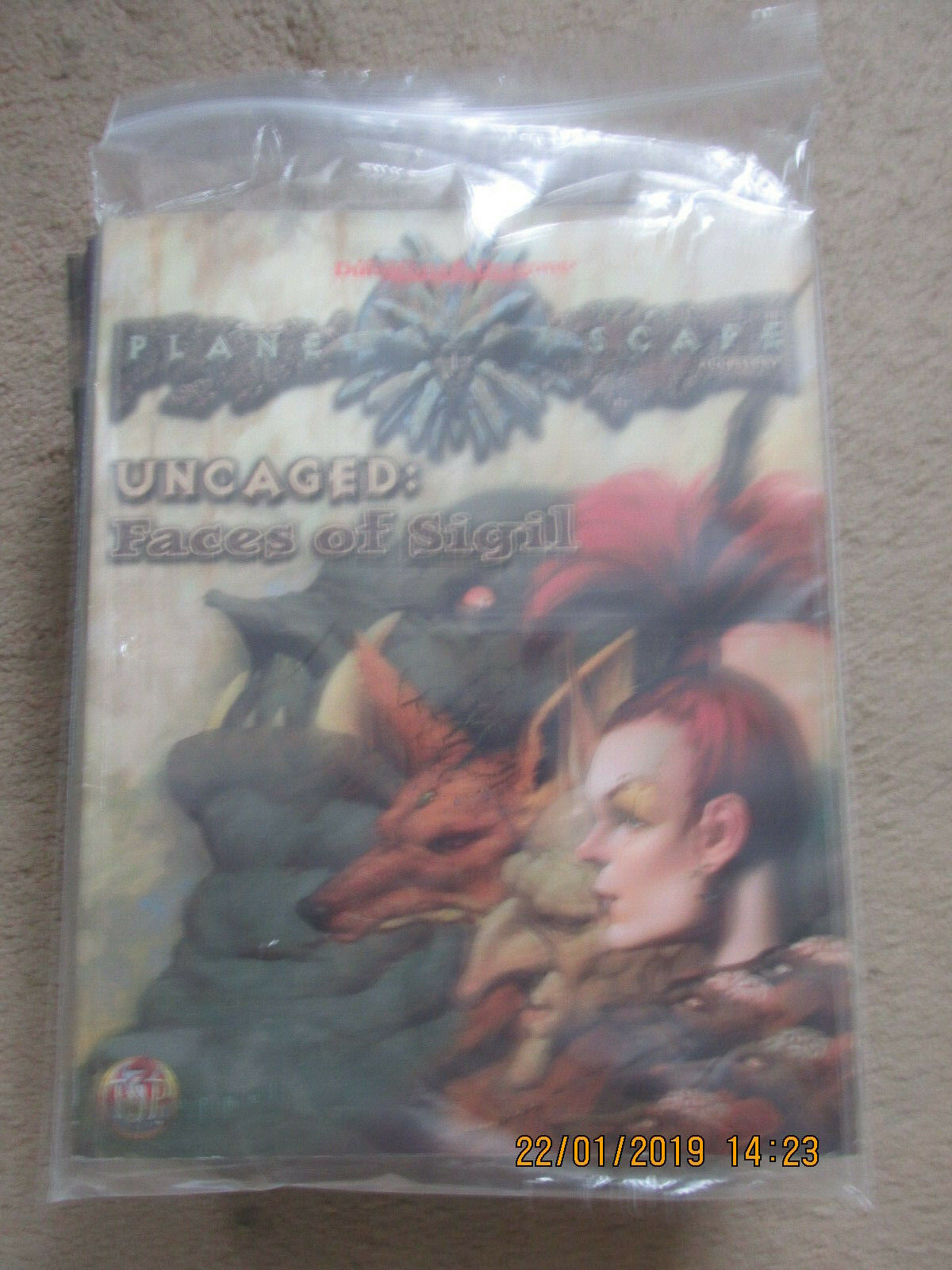 TSR AD&D 2e PLANESCAPE UNCAGED FACES OF SIGIL 2624 VGC  ADV DUNGEON DRAGON