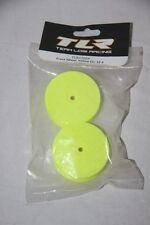 TLR TEAM LOSI - 2 Jantes jaunes avant 22-4  56 X21 mm  hex 12 mm TLR43004