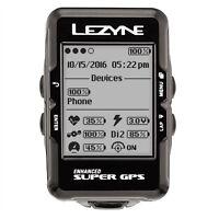 Lezyne Super Navigate Gps Bike Computer Loaded Bundle Heart Rate, Speed, Cadence