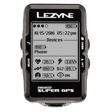 Lezyne Navigazione GPS Moto Super computer caricato Bundle frequenza cardiaca, velocità, cadenza