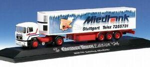 Herpa-H0-174015-MAN-F90-Sattelzug-MIEDTANK-Creativ-Truck-Edition-1994-B-Ware