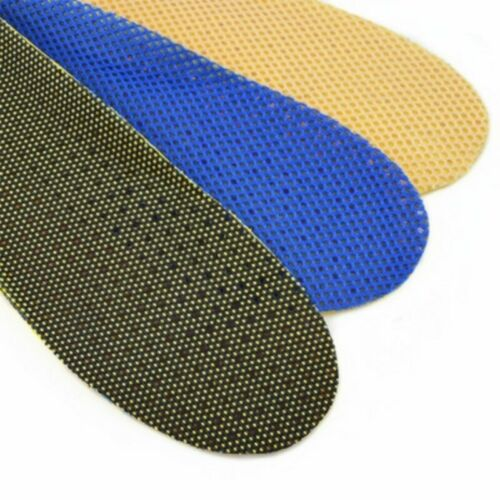1 Pair Men Women Breathable Shoe Cushion Running Arch Support Insert Insoles Pad
