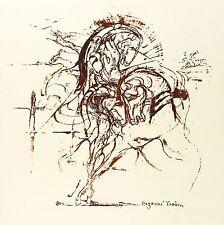DAGMAR RANFT-SCHINKE - PEGASUS TRAUM - Lithografie 1975