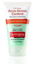 3 Pack - Neutrogena Oil-Free Acne Stress Control Power-Clear Scrub 4.20oz Each