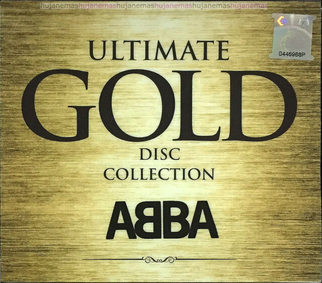 ABBA Greatest Hits GOLD Disc Collection 1999 MALAYSIA CD RARE NEW FREE SHIPMENT
