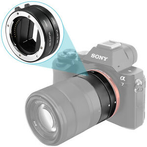Neewer-Metal-Automatic-Macro-Extension-Tube-DG-10mm-16mm-FT1-for-Sony-NEX