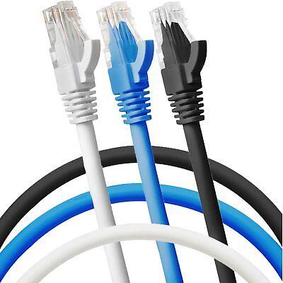 Rj45 Rete Ethernet Cat5e Modem Router Cavo 1m 2m 3m 5m 10m 20m 40m All' Ingrosso- Sii Amichevole In Uso