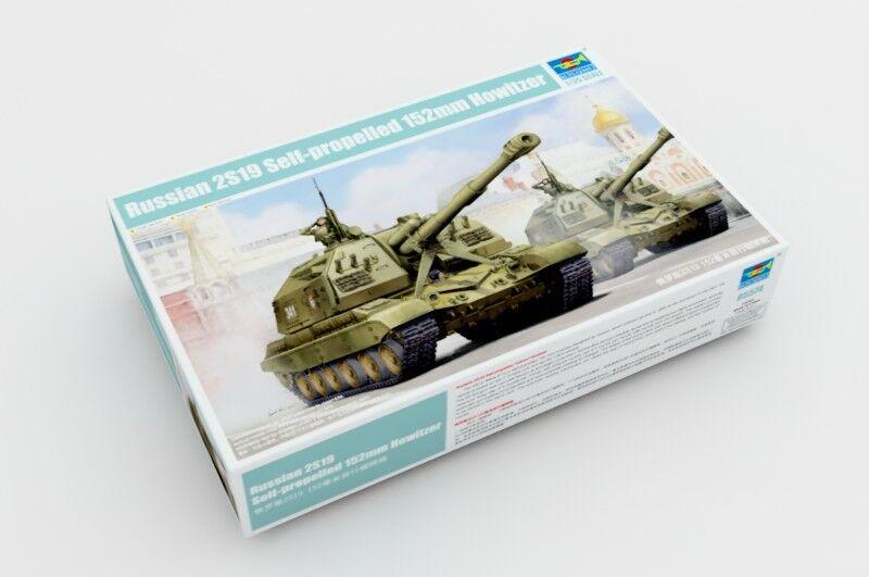 Trumpeter 1 35 05574 Soviet 2S19 Sel-Propeller 152mm Howitzer