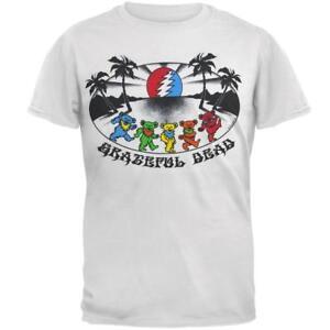 0c8479a5 Image is loading Grateful-Dead-Sunset-Bears-White-T-Shirt