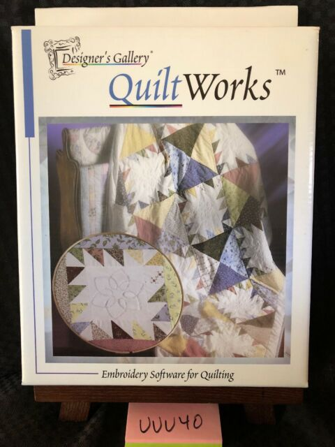 Designer S Gallery Quilt Works Embroidery Software For Quilting New Free S H For Sale Online