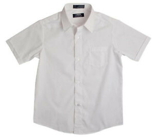 366c6f88907 Boy s Dress Shirt French Toast School Uniforms White Oxford Short ...