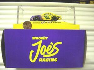 Matchbox-1-64-Scale-Nascar-Cars-in-Plexi-Case-Smokin-Joes-Coors-Kodiak-Bud-NuBxd