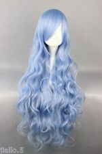 New Cheap 80cm Long Four is the Department of Wavy Anime Fashion Cosplay Wig Z88