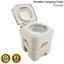 thumbnail 2 - Portable Camping Flushable Toilet w Independent Tank Porta Potty Adventure Kings