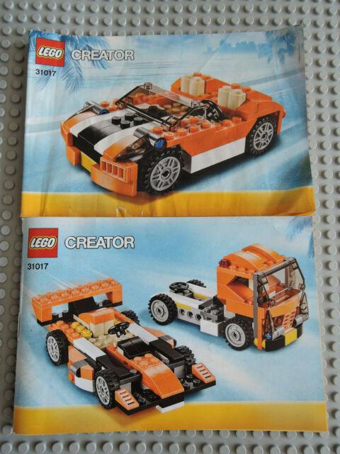 LEGO Bauanleitung Instruction Creator 4939  2 Hefte