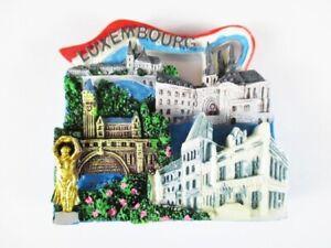 Luxemburg-Magnet-Fridge-Reise-Souvenir-Luxembourg-Pont-Adolphe-Neu