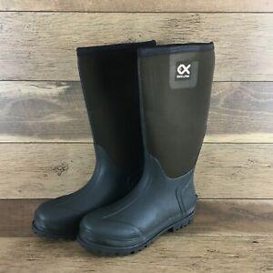 NIB-Duck-and-Fish-Women-039-s-SZ10-BROWN-Waterproof-Knee-Tall-Boots-US-FAST-SHIPPING