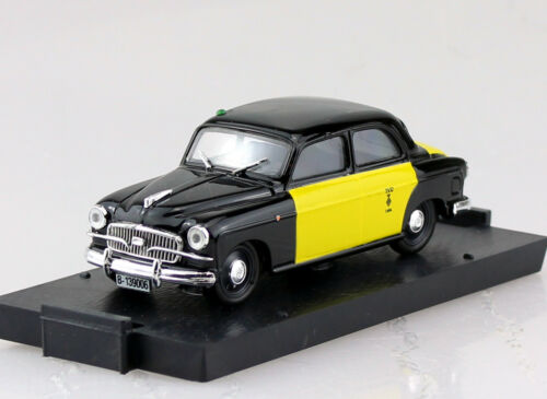 Seat 1400b taxi barcelona españa 1956 1:43 Vroom coche modelo r216b