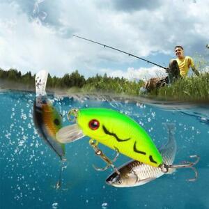 Fishing Lures Crank Bait Hooks Bass Crankbaits Tackle Swimbait Sinking