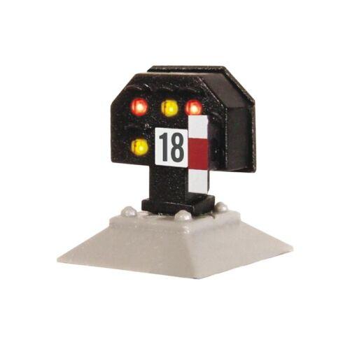 mit Multiplex-Technologie Spur H0 nieder Viessmann 4728 Licht-Sperrsignal