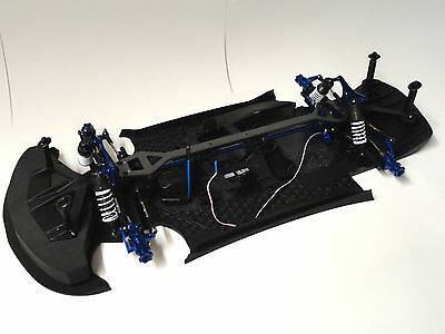 Traxxas XO-1 Roller Rolling Chassis W/ Complete Drivetrain And Suspension