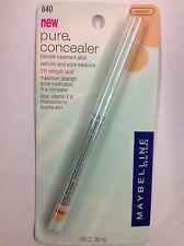 Maybelline Pure Concealer Blemish Treatment Stick. Medium.