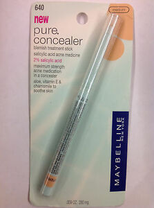 Maybelline Pure Concealer Blemish Treatment Stick Medium