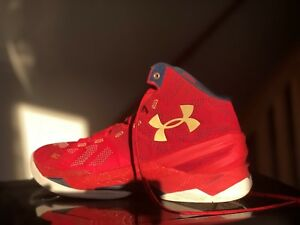 67fdd08867 UNDER ARMOUR CURRY 2 FLOOR GENERAL Men's Shoes - Size 9.5 US GOOD ...
