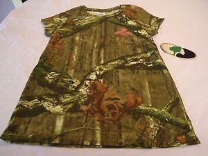Mossy Oak Break-up Infinity Youth Girls/' Camo Short Sleeve Shirts S-XL