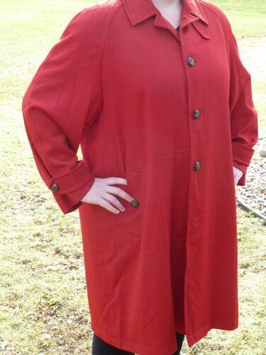Buttons Ralph 100 Great Jacket 16 Lauren Cherry Ladies Coat Red Wool UwTz6wq