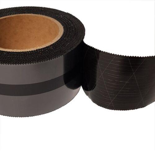 Winseal tape 2560-3 densamente cinta adhesiva UV PE negro 25m:60mm