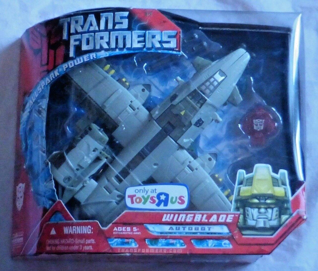 Hasbro Transformers Film Winglblade Action Figure Misb Sigillato Tru Esclusivo