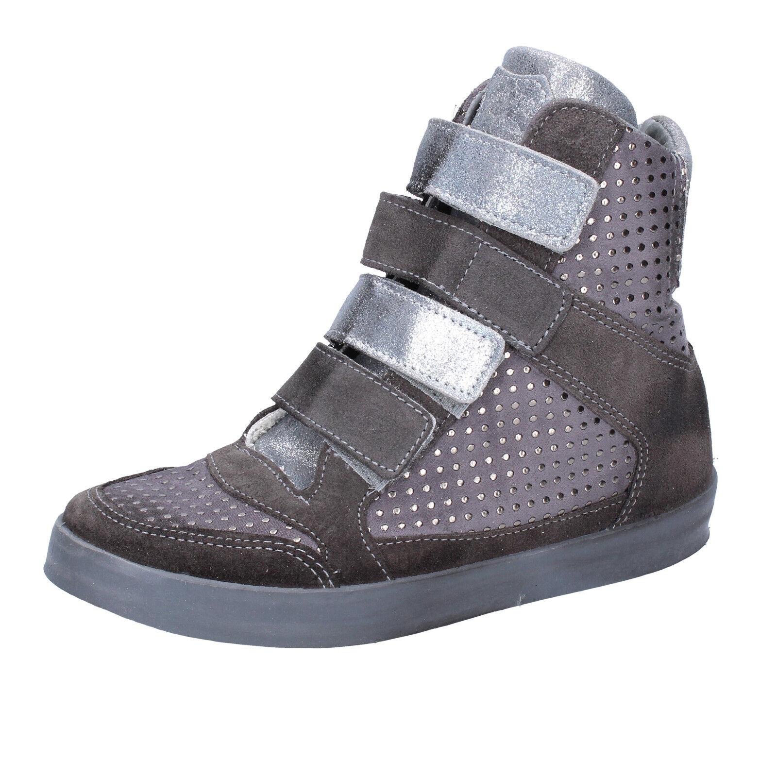Damen schuhe BEVERLY HILLS POLO CLUB 37 EU sneakers grau wildleder AJ15-37