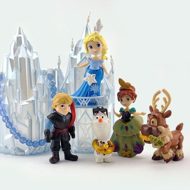 Frozen 2 Premium Figure Elsa Anna Set of 6 beautiful Kristoff Sven Olaf action