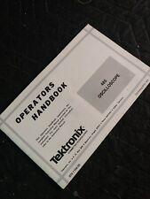Tektronix 485 Oscilloscope Operators Handbook 070 1194 00