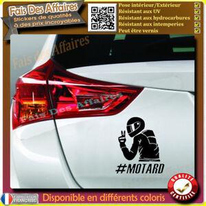 sticker-autocollant-Motard-a-bord-biker-a-bord-decal-motard-hashtag-motard