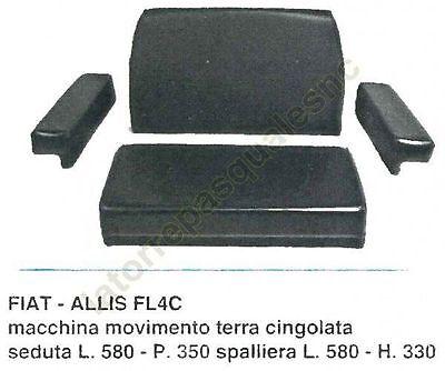 Équipements Professionnels Agriculture Seat Rembourrage Pour Tracteur Fiat Allis Fl4c
