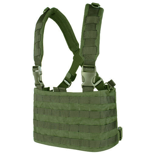 CONDOR TACTICAL OPS CHEST RIG MOLLE CARRIER SYSTEM SYSTEM SYSTEM AIRSOFT GURTBÄNDER OLIV DRAB 767016