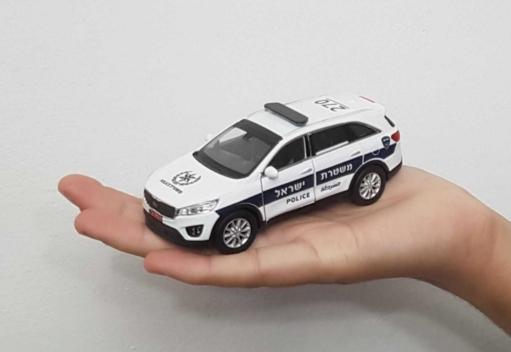marchio famoso RARE ISRAEL polizia polizia polizia auto modellolo  kia sorento SCALE 1 38 BEST GIFT collections  ti aspetto
