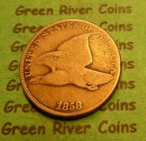 1858 LL Flying Eagle Cent   #S-58-3      (1856 to 1858)