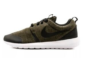 539bede7a6b5  110 Nike Roshe One NM TP Men s Size 10 Olive Green Tech Fleece Pack ...