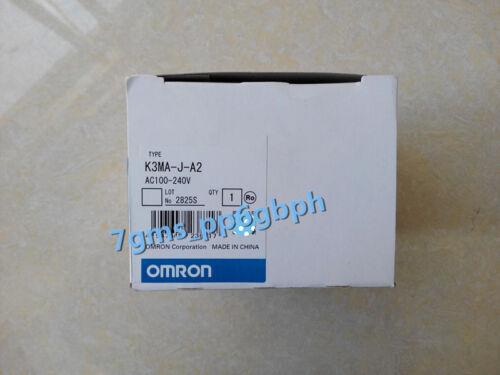 1 PC New Omron K3MA-J-A2 AC100-240V Digital Panel Meter In Box