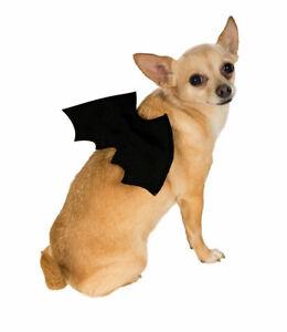 Black Bat Wings Halloween Pet Dog Clothing Costume Accessory
