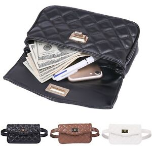 Fanny Pack Quilted Faux Leather Fashion Belt Bag Designer Waist Pack W 2 Belts Ebay,Contemporary Gas Fireplace Designs With Tv Above