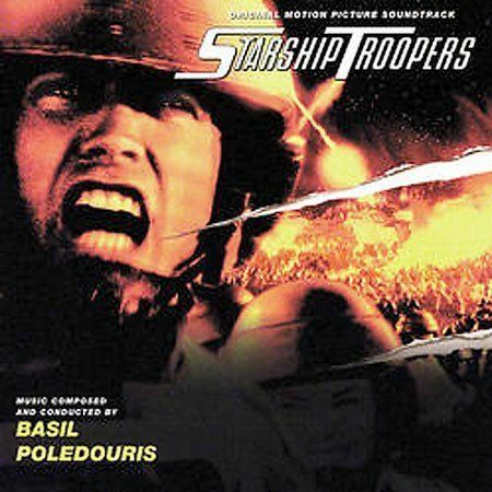 Starship Troopers CD [Original Motion Picture Soundtrack] by Basil Poledouris...