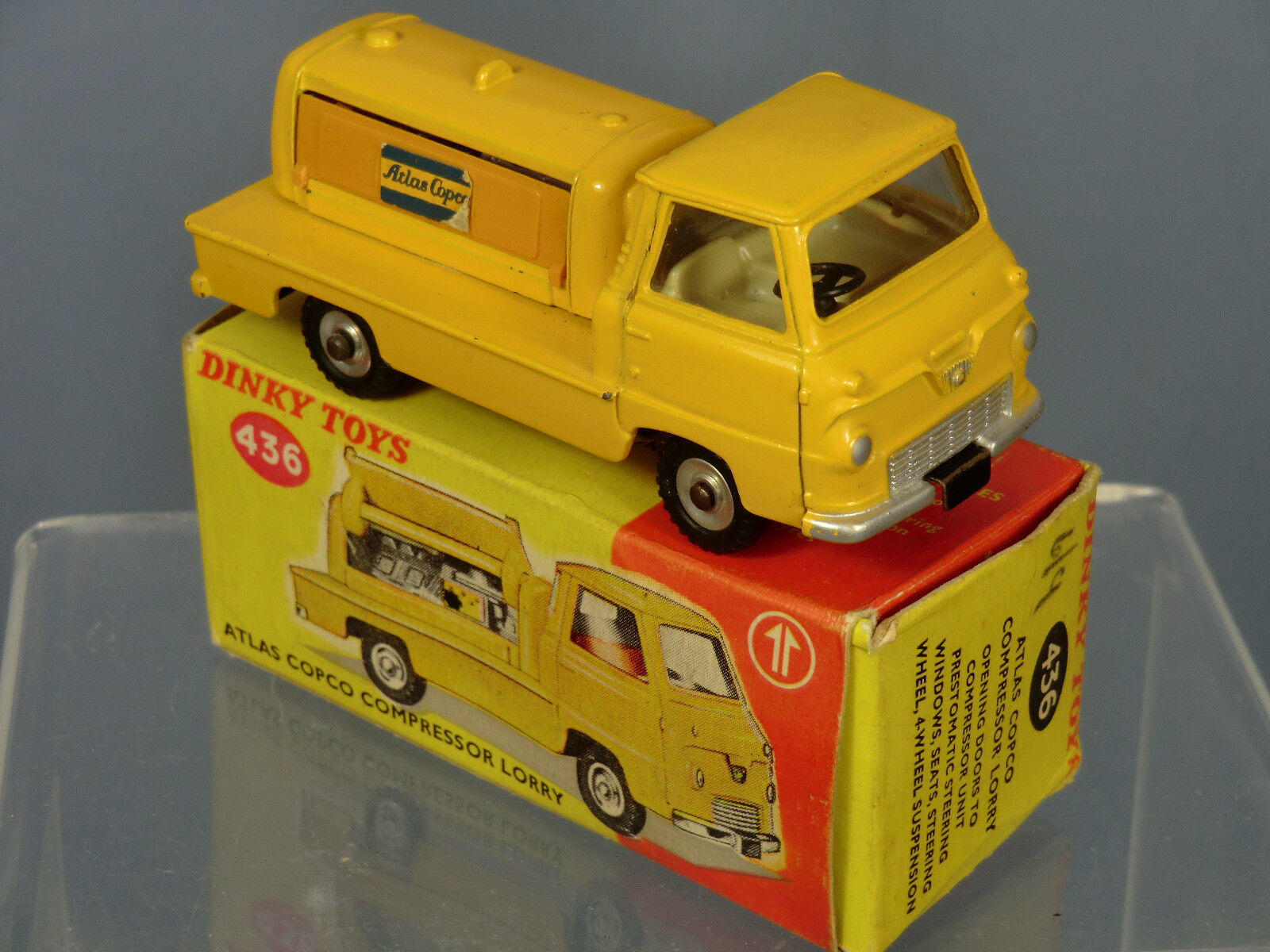 DINKY TOYS MODEL No.436 ATLAS COPCO COMPRESSOR LORRY   VN MIB