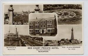 w11o40-333-Real-Photo-of-Multi-View-of-BLACKPOOL-1961-Used-VG-EX