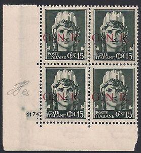 RSI-1943-15-cent-n-472-I-GNR-BRESCIA-BLOCCO-NUMERO-DI-TAVOLA